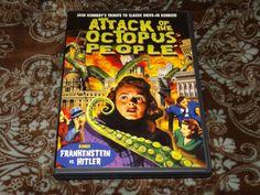 Attack of the Octopus People/Frankenstein vs Hitler (DVD, 2011) Alpha SOV Horror