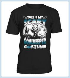Halloween Shirt Scary GOALKEEPER Costume (*Partner Link)