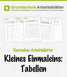 44 besten Mathe Bilder auf Pinterest | Schule, Arbeitsblätter mathe ...
