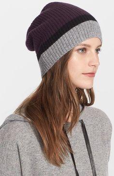 b3520d18c58a0 autumn cashmere Colorblock Cashmere Hat