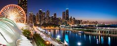 Chicago Skyline from Navy Pier by Craig Hudson Photography, via Flickr