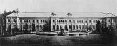 Museo Imperial de Ueno (actual Museo Nacional de Tokio) Primera fachada - ca. 1872