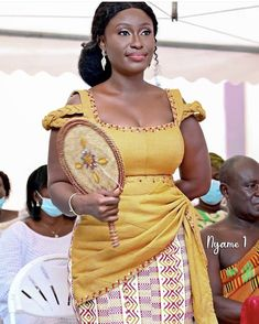 Best African Dresses, African Traditional Dresses, Traditional Wedding Dresses, Ghana Dresses, Kente Dress, Ghana Fashion, Kente Styles, Africa Dress, Nhk