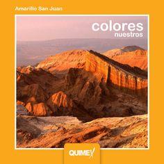 Animate a usar este intenso color que refleja la impronta de los paisajes de San Juan.