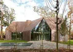 Image result for cedar cladding and terne coated stainless steel roof