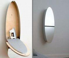 A Tábua de Passar/Espelho | 33 coisas incrivelmente inteligentes que você precisa ter no seu apartamento pequeno