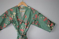 Kimono Robe. Kimono. Dressing Gown. von ModernKimonoRobes auf Etsy