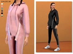 Sports Hoodie+Pants03 Created for: The Sims 4 6colors Hope you like it! Download:TSR