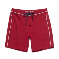 Core 4way Stretch Boardshort - Red