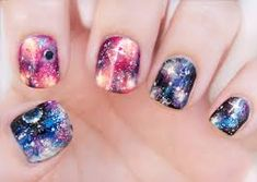 """Résultat de recherche d'images pour """"nail art galaxie"""""""