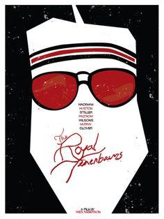 The Royal Tenenbaums - minimal movie poster