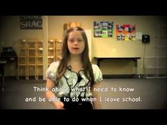 "▶ ""DON'T LIMIT ME!""- Powerful message about inclusion from Megan, a Denver youth with Down Syndrome - YouTube"