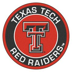 Texas Tech Red Raiders NCAA Rounded Floor Mat (29in)
