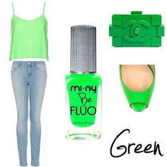 BE FLUO GREEN. ♥ #baby #beautiful #beauty #bestoftheday #cool #cute #fashion #fashionista #girl #girls #inspiration #iphonesia #life #look #love #model #nail #nailart #nailpolish #nails #outfit #photooftheday #pretty #shoes #shopping #style # happy #smile #friends #cute #heel #smile #street #star #stars #follow #summer #spring #happy #colors #sun #sky #trendy #green #fluo