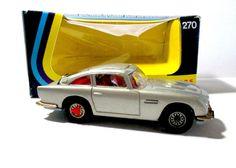 Corgi Toys 270 The New James Bond 007 Aston Martin DB5 Goldfinger 1973 BOX #Corgi #AstonMartinDB5