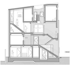Co Housing, Architectural Section, Landscape Architecture, Floor Plans, Graphic Design, Interior, House, Home, Design Interiors