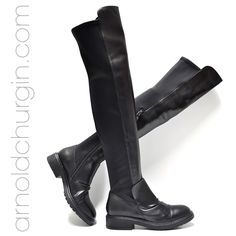 Arnold Churgin Bonny #boots #flats #otk #fashionblogger #styleblogger #beautiful #bootlove Knee Boots, Flats, Beautiful, Clothes, Shoes, Fashion, Loafers & Slip Ons, Outfits, Moda