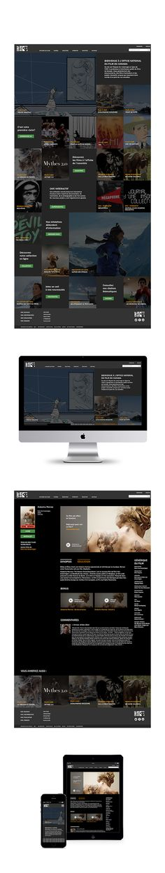 ONF   Site Web on Behance