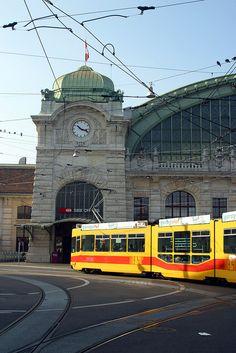 Train station in Basel, Switzerland