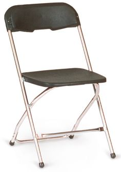 Chrome Series 5 Plastic Folding Chair