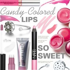 So Sweet: Candy-Colored Lips