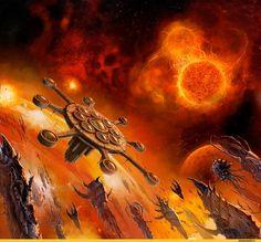 warhammer 40000,фэндомы,tyranids,wh starship