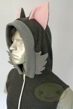 Hey, I found this really awesome Etsy listing at https://www.etsy.com/listing/107129553/wolf-hoodie-costume-cosplay-adult-size