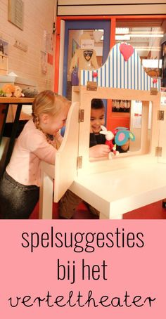 Spelsuggesties bij het verteltheater Classroom Organisation, Classroom Displays, School Site, Dramas Online, Play Based Learning, Teacher Tools, Reggio Emilia, Social Platform, Diy For Kids