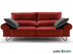Sofassinfin. Sofá moderno Divani Star modelo Loewe