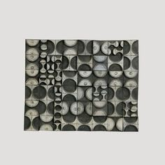 Jaipur. Abstract modular piece by Rut Bryk. 1960's