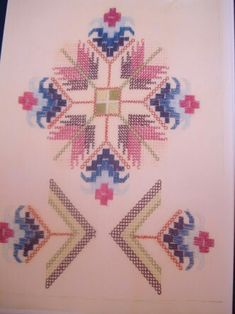 This Pin was discovered by Ayş Hardanger Embroidery, Beaded Embroidery, Cross Stitch Embroidery, Hand Embroidery, Cross Stitch Patterns, Embroidery Designs, Sewing Machine Quilting, Palestinian Embroidery, Ideas