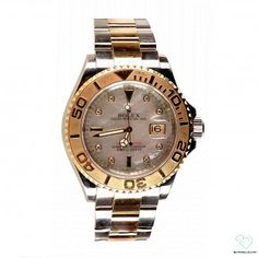 Rolex two-tone Yachtmaster with Serti Diamond markers and a mother of pearl  dial men s 7670208cad