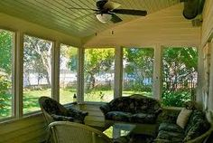 I have always loved screened in porches.