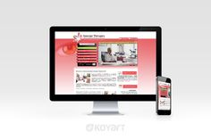 Création de site internet à La Longueville dans le Nord (59) : www.synergies-therapies.fr
