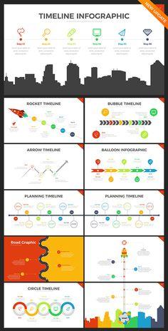 Project Timeline PowerPoint Template | Pinterest | Powerpoint ...