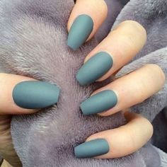 Best Matte Nails - 41 Best Matte Nails for 2018 - Hashtag Nail Art #summernails