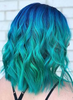 40 Pretty Blue Hair Color Trends for Women 2018. See here our list of best blue hair color ideas that you may use to show off right now. Women and girls who are seeking for modern shades of hair colors they are advised to visit this post for amazing trends of bright blue hair colors for medium and long hair. Use these amazing blue hair colors for attractive and cute hair looks.