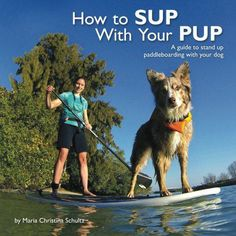 stand up paddle boarding with a dog - Google Search