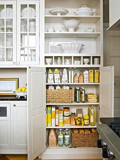 View entire slideshow: 15 Ways to Organize Your Pantry on http://www.stylemepretty.com/collection/488/