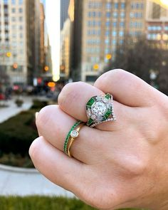 33 Vintage Wedding Rings We're Obsessed With ❤ vintage wedding rings amazing rings1 #weddingforward #wedding #bride