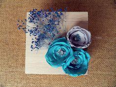 Mint Blue Autumn Teal Ring Bearer Wooden Box by weddingsundae Mint Blue, Teal, Purple, Elegant Wedding Themes, Wedding Ideas, Blue Flowers, Red Roses, Blue Centerpieces, Wooden Ring Box