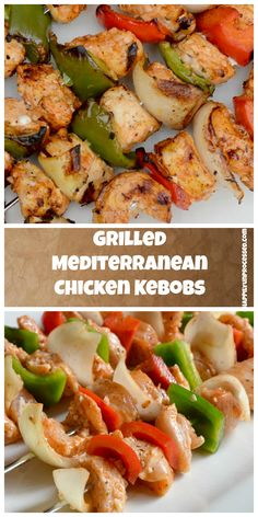 91 best unprocessed dinners images on pinterest beef recipes grilled mediterranean chicken kebobs forumfinder Images
