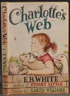 Children's; White (EB), Charlotte's Web, 1st Edition, 1952.