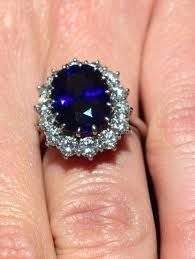 The Kate Middleton Princess Diana Sapphire Engagement Ring by Garrard