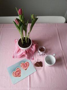 Tavola colazione San Valentino