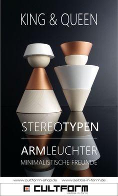 dieStereotypen - König & Königin #design #stereotypen #cutlform #dekoration