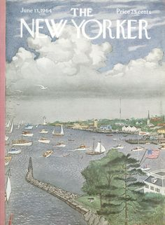 The New Yorker - Saturday, June 13, 1964 - Issue # 2052 - Vol. 40 - N° 17 - Cover by : Albert Hubbell