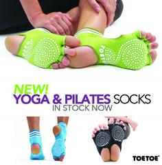 New! Yoga & Pilates Socks #TOETOE #TOETOESocks #YOGA #PILATES
