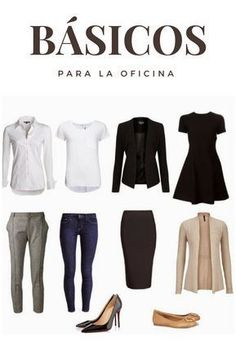 Basic Garments You Must Have- Prendas Básicas que Debes Tener Office basics can never be missing. Basic Outfits, Warm Outfits, Complete Outfits, Trendy Outfits, Cool Outfits, Fashion Outfits, Woman Outfits, Style Fashion, Business Professional Outfits