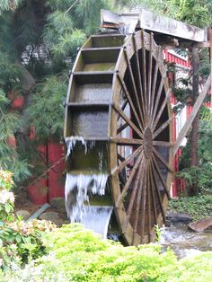 Our signature Waterwheel